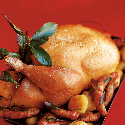 Roast Turkey With Spiced Cranberry, Bacon & Walnut Stuffing