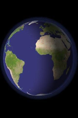 3D world clock global time