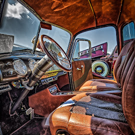 1953 Chevy 3100 by Ron Meyers - Transportation Automobiles