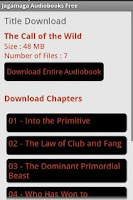 Screenshot of Jagamaga Audiobooks FREE