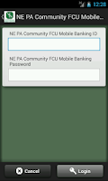 Screenshot of NE PA Community FCU Mobile