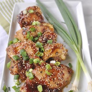Honey Garlic Ginger Chicken Recipes