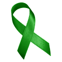 Awareness Ribbon - Green icon
