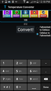 Temperature Converter - screenshot