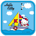 Hello Kitty Navy Sunday Theme icon
