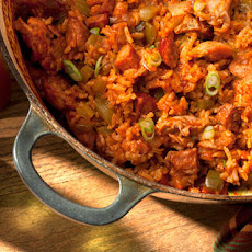 Chicken and Smoked Andouille Jambalaya