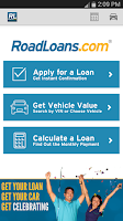 Screenshot of RoadLoans - Tools for Cars