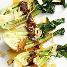 Stir-fried Pak Choi With Sesame Sauce