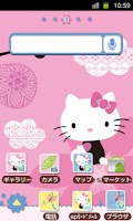 Screenshot of HELLO KITTY Theme29