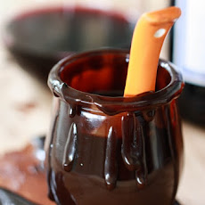 Merlot Hot Fudge Sauce
