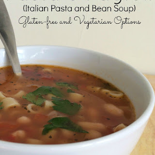 Pasta e Fagioli (Italian Pasta and Bean Soup)