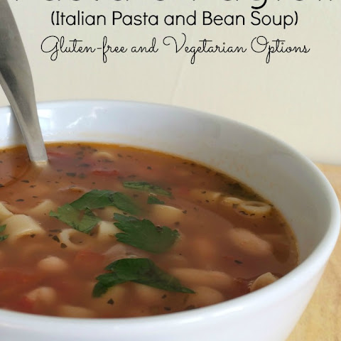 10 Best Italian Pasta Fagioli Soup Recipes | Yummly