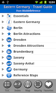 Eastern Germany - FREE Guide - screenshot