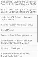 Screenshot of Santa Barbara Events