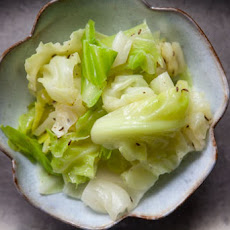 Blanched Cabbage with Butter and Caraway