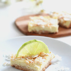 Key Lime Coconut Bars - Dairy-Free