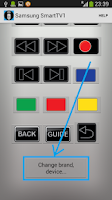 Screenshot of HTC IR - Universal Remote