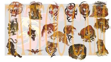 Screenshot of TattooCamPkg - Lion and Tiger