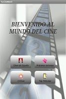 Screenshot of TuCineMovil