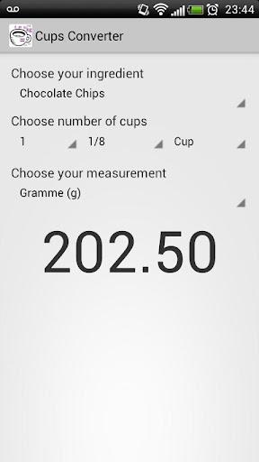 【免費書籍App】Cups Converter-APP點子