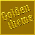 Golden GO Launcher EX Theme icon