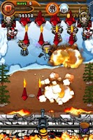 Screenshot of Ninja Chicken 2: Shoot'em up