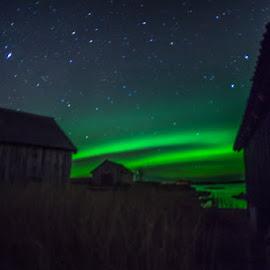by Sverre Sebjørnsen - Landscapes Weather ( nordlys, vigra )