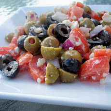 Ralf's Pretty Good Olive Salad