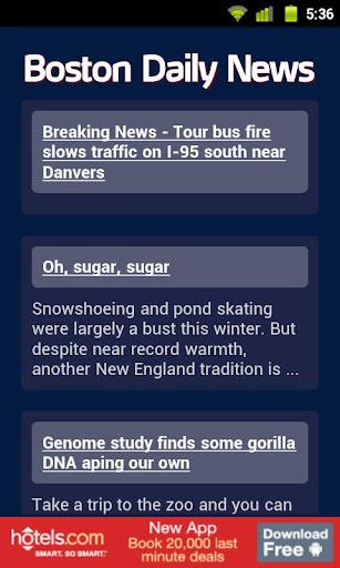 Boston Daily News