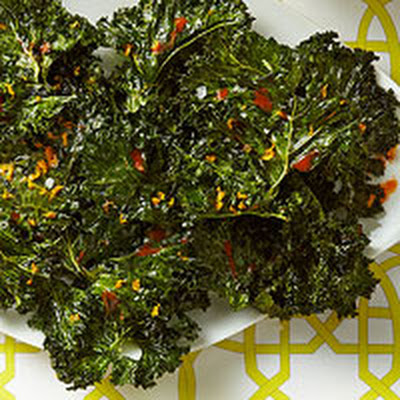 Citrusy Kale Chips