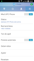 Screenshot of UPC Phone (Romania)