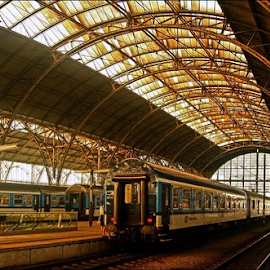 by Irena Brozova - Transportation Trains