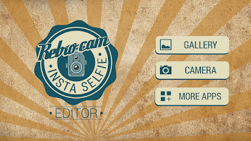 Screenshot of Retro Cam Insta Selfie Editor
