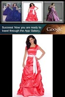Screenshot of Formal Gowns Idea Book