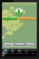 Screenshot of Natural Solutions