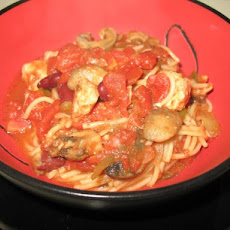 Crock-Pot Tuscan Pasta With Chicken (5 Ww Points)