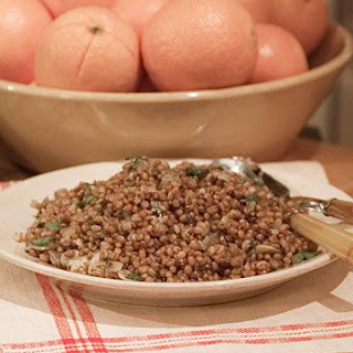 Warm Wheatberry Salad