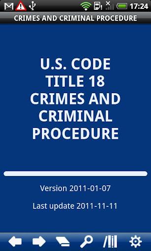 USC T.18 Crimes Criminal P.