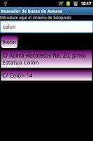 Screenshot of Auvasa Search
