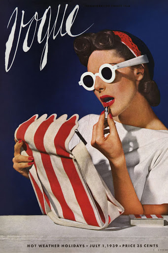 Gafas diferentes revista Vogue 1939