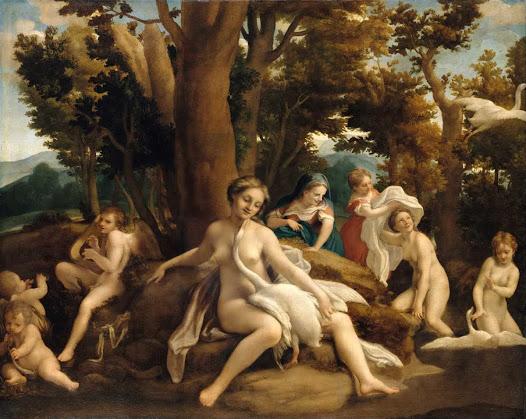Correggio, Leda e il cigno