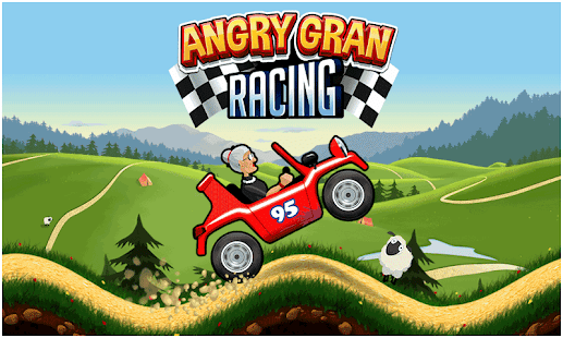 Angry Gran Racing (Mod Money/Unlocked/Ad-Free)