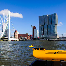 The Rotterdam in Rotterdam by Evelien van der Hurk - City,  Street & Park  Skylines ( remco koolhaas, new orleans, erasmus bridge, the rotterdam, rotterdam, nikond90, 2014, clear skies, the netherlands )