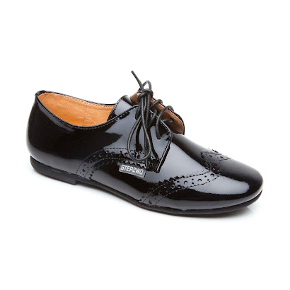 Step2wo Stanford - Patent Lace Up SHOE