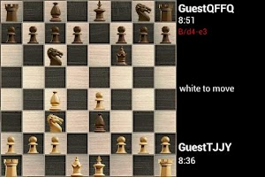 Screenshot of Steel Chess (FICS)