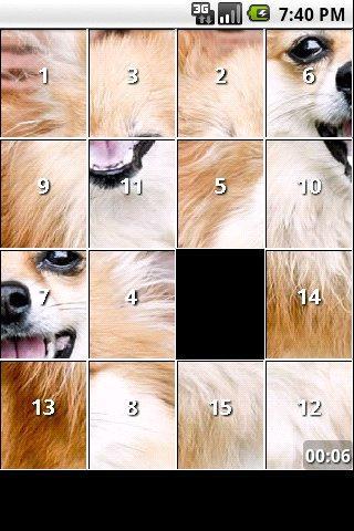 Pomeranian Dog Puzzles