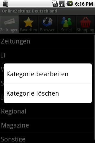 【免費新聞App】OnlineZeitung Deutschland-APP點子
