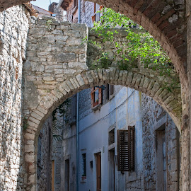 Bale by Dubravka Krickic - City,  Street & Park  Historic Districts ( village, bale, street, old town, croatia )