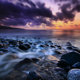 Ujung Beach by Nghcui Agustina - Landscapes Waterscapes