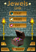 Screenshot of Jewels Link Deluxe